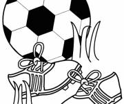 Coloring pages Soccer Sport
