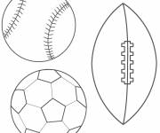 Coloring pages Stylized Balloons