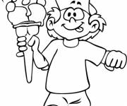 Coloring pages Kindergarten Summer and Ice