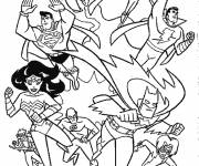 Coloring pages Superhero invented