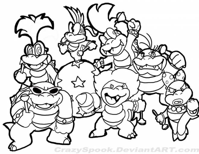 Free coloring and drawings Children's cartoon Coloring page