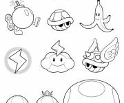 Free coloring and drawings Maternal super mario Coloring page