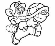 Coloring pages Super Mario and Kopp Troopa