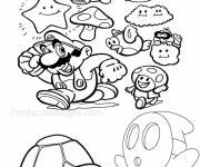 Coloring pages Super Mario Odyssey