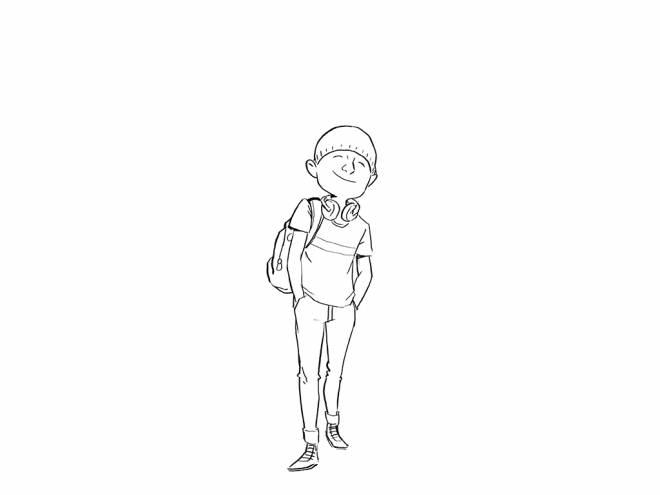 Free coloring and drawings 13 year old teen Coloring page