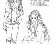 Coloring pages Colored teen