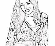Coloring pages Realistic Teen