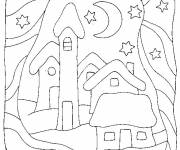 Coloring pages Buildings disney to print