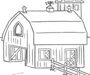 Coloring pages Buildings drawing to color