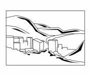 Coloring pages Buildings easy to draw