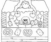 Coloring pages Buildings for boys