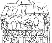 Coloring pages Buildings printable