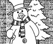 Coloring pages Winter Snow 13