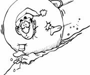 Coloring pages Winter Snow 25
