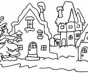 Coloring pages Winter Snow 27