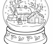Coloring pages Winter Snow 36