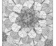 Coloring pages Psychedelic Anti-Stress