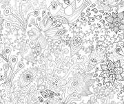 Coloring pages Stylized adult
