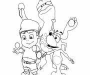 Coloring pages Adiboo