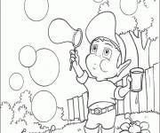 Coloring pages Adiboo bubbles