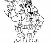 Coloring pages Alf soldier