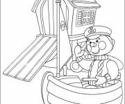Coloring pages Andy Pandy cute