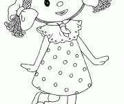 Coloring pages Looby Loo: Andy Pandy