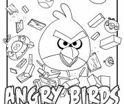 Coloring pages Angry Birds magic