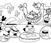 Coloring pages Angry Birds maternal