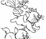 Coloring pages Aristocats free to print