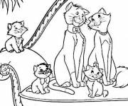 Coloring pages Aristochats disney