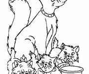 Coloring pages Duchess Aristochats