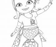 Coloring pages Baby Lilly