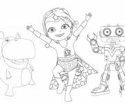 Coloring pages Baby Lilly online