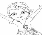 Coloring pages Baby Lilly to print