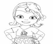 Coloring pages Bebe Lilly coloring page