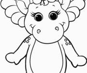 Coloring pages Baby Bop