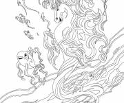 Coloring pages Bella Sara and more