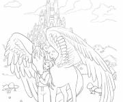 Coloring pages The kingdom of Bella Sara