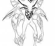 Coloring pages Ben 10 alien to download