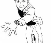 Coloring pages Ben 10 omniverse free