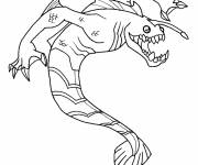 Coloring pages Ben 10 omniverse online