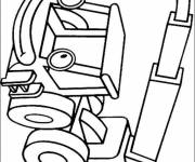 Coloring pages Bob the builder Lofty