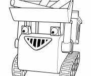 Coloring pages Bob the builder Muck carries materials