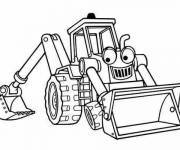 Coloring pages Scoop Bob the builder