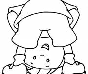 Coloring pages Cartoon pebble