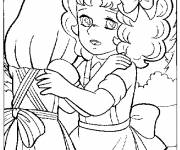 Coloring pages Candy and Annie