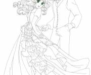Coloring pages Candy and Anthony