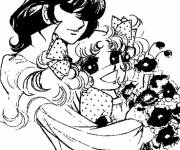 Coloring pages Candy and Ferry the two lovers