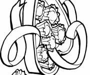 Coloring pages Candy chocolate box